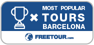 Tour Guide Award - Barcelona